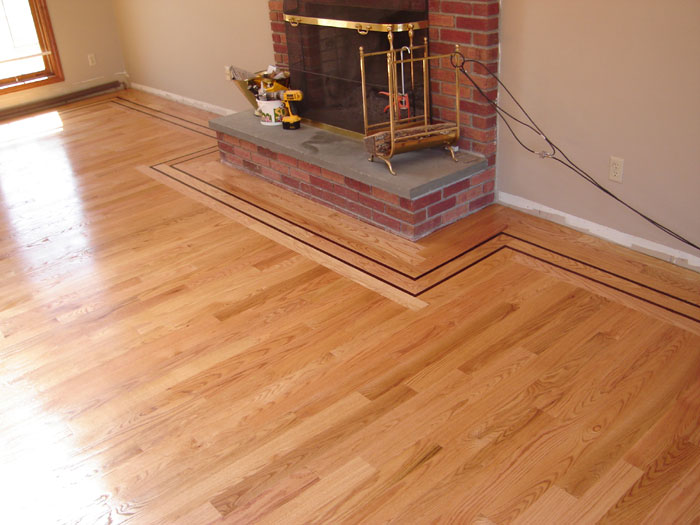 1000 images about wood floors on pinterest Hardwood floor designs borders